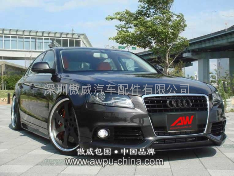 2009 audi a4 b8 pu body kits aw02 aw china. Black Bedroom Furniture Sets. Home Design Ideas