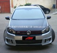 09-11 VW GOLF6 MK6 ABT Style PU body kits