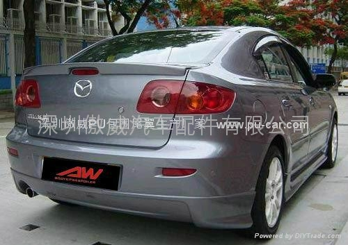 Auto Parts 2005 2010 Mazda 3 Body Kits China Manufacturer Car Exterior Decoration Car
