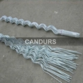 Galvanized iron Spiral wire Plants Growing Support