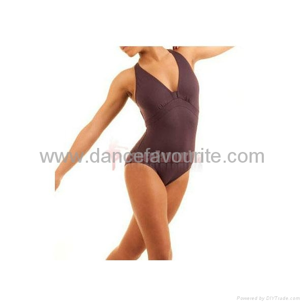 Adult halter ballet leotards