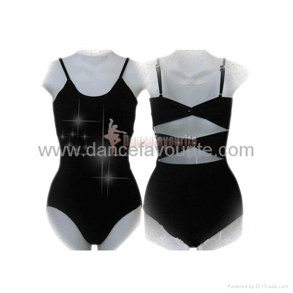 Adult camisole leotard with scooped front, Adult leotards