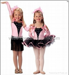 Child ballet tutus, two in one costumes,