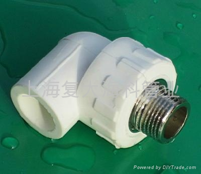ppr工程管件外牙弯头 1