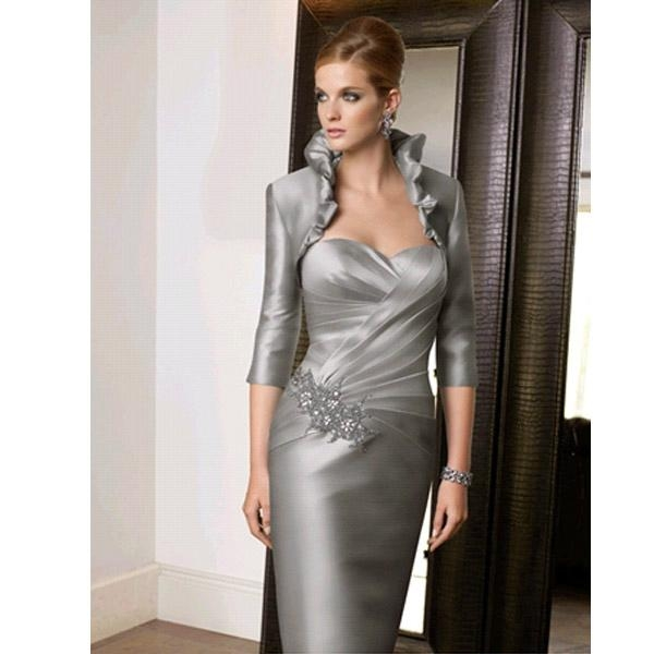 Mother of the Bride Long Dresses with Sleeves