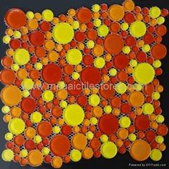 circle  crystal  mosaic