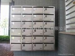 挂墙式不锈钢信报箱