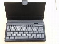 ipad Galaxy 蓝牙皮套键盘