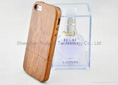 Ultra thin wooden iphone case