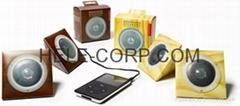 foldable paper speaker for MP4.IPOD