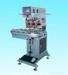 EP160C3自動三色轉盤座地移印機