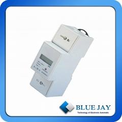 CE认证19D-210D导轨式单相电能表家用式电能表