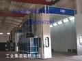 大型鋼結構集裝箱噴砂房