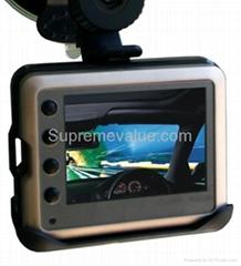 HD metal shell 720p mini vehicle DVR/car black box camera recorder
