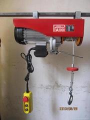 PA mini wire rope electric hoist