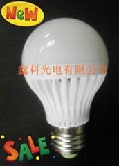 50LED球奶白球泡燈
