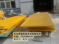防滑蓋板防滑玻璃鋼格柵價格