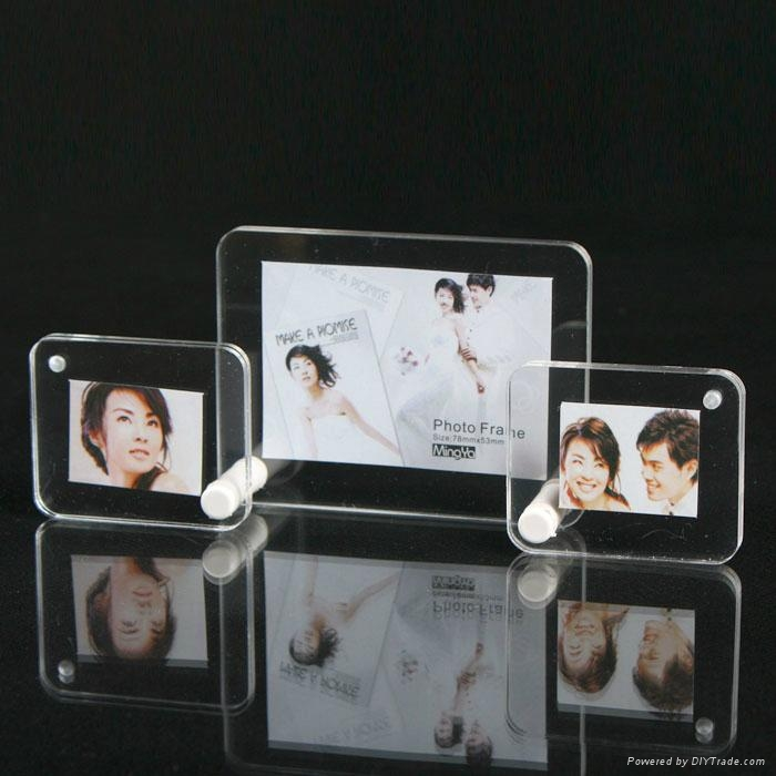 3 In 1 Acrylic Photo Frame Pf03 Minghao China Manufacturer