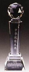 青岛水晶奖杯奖牌
