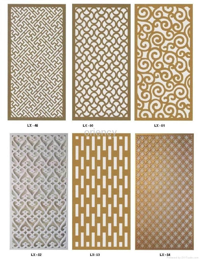 Decorative screening panels mdf iron blog for Decorative mdf