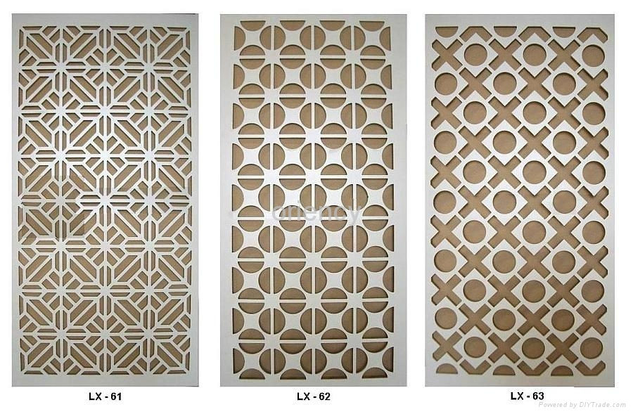 MDF grille panel - LX-001 - Lin Xuan (China) - Other ...