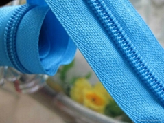 Dyeable NO.5 nylon zipper rolls