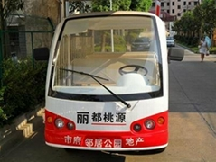 岳陽電動觀光車