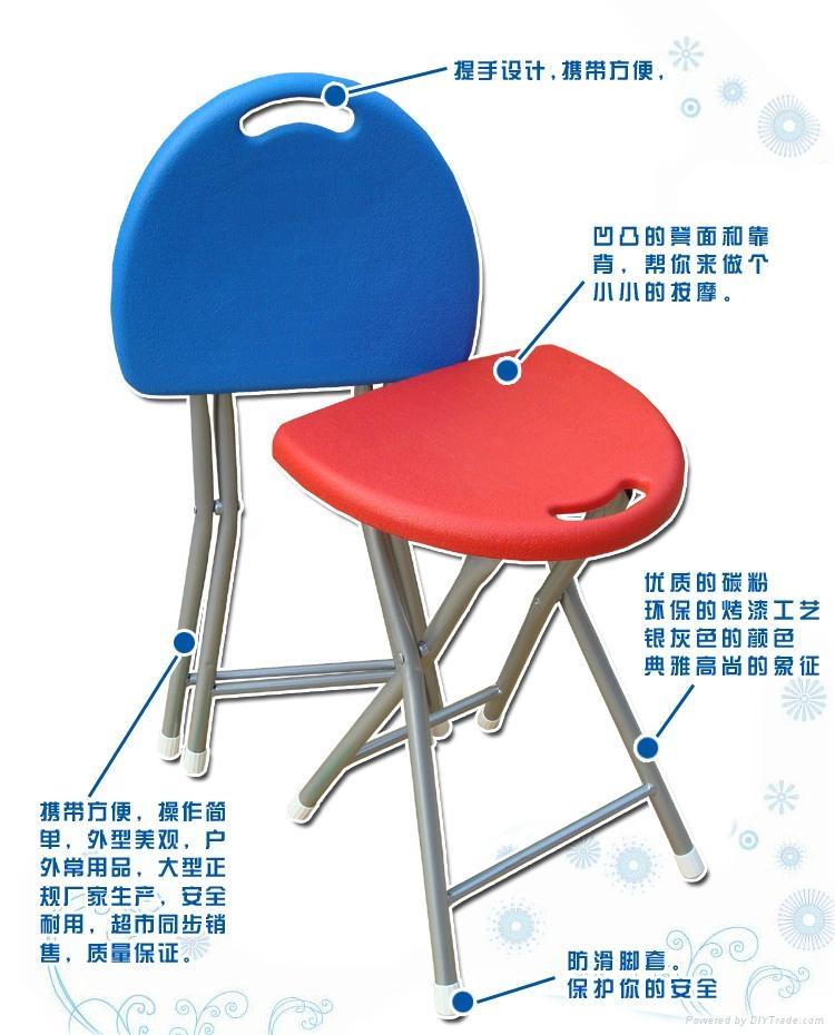 BS-02塑料折疊凳 3