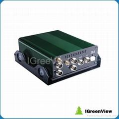 4CH Mobile DVR Built-in GPS model(3G Optiion)