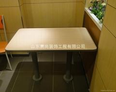肯德基式快餐桌椅