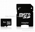 8GB Micro SD Memory Card / Micro SD Card (Hot Product - 5*)