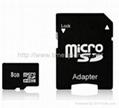 8GB Micro SD Memory Card / Micro SD Card
