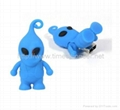 2GB Silicone Rubber USB Flash Drive