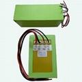 36V 15Ah li-ion battery pack for