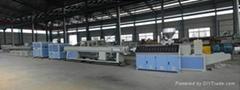 PVC production extrusion line