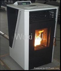 50獨立垂直式木顆粒壁爐