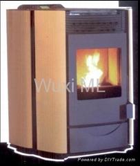 40獨立垂直式木顆粒壁爐