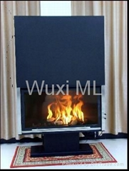 68S嵌入式燃木壁爐