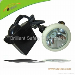 10000LUX mining cap lamp with CREE Led last 22 hours lighting