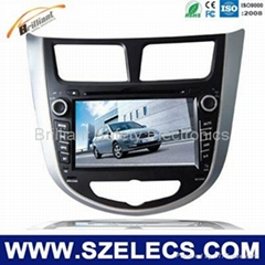 HYUNDAI Car GPS Navigation system suveillance System DVD player
