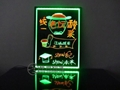 Fluorescent plate LED fluorescence board electronic fluorescent writing board 1