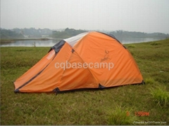 orange dome tent for camping & hiking