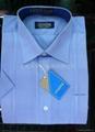 男式短袖衬衫 (倒比例)