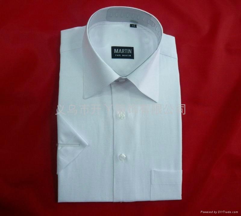 男式经典短袖衬衫 1