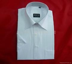 男式经典短袖衬衫