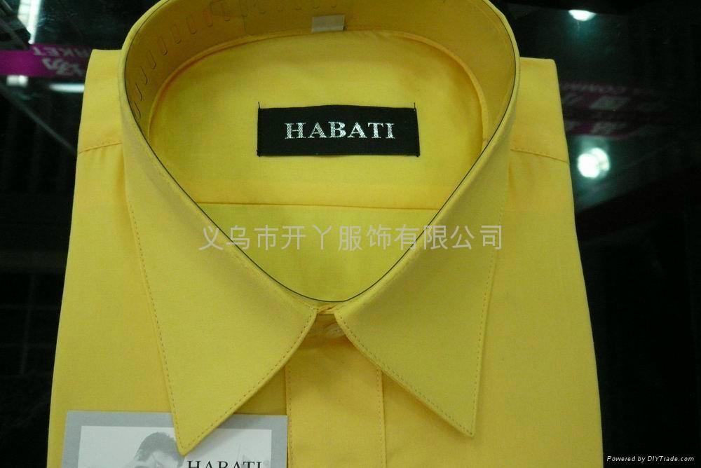 男式长袖衬衫 (倒比例)  2