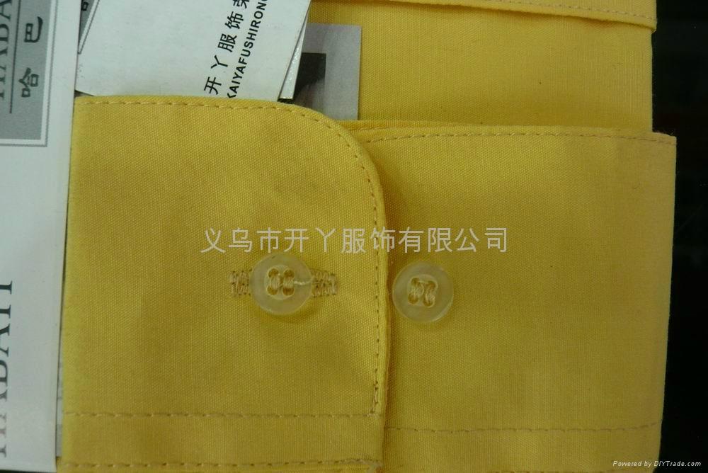 男式长袖衬衫 (倒比例)  3