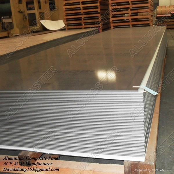 Aluminum Composite Panel Manufacturers : Mm polyester acp aluminum composite panels for signage
