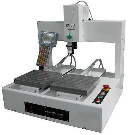 双工作台全自动点胶机械手 1