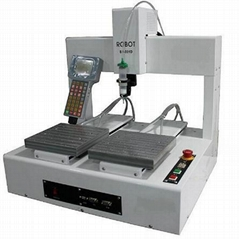 双工作台全自动点胶机械手